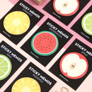 Second Mansion Fruits sticky notes memo pad