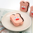 Strawberry toast - ROMANE Brunch brother AirPods case silicone cover