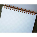 UNIVERSAL CONDITION Scrap note A5 size spiral grid notebook