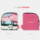 Flower rain - All new frame Myeongmi Choi E collection mini zipper pouch