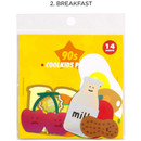 2. Breakfast - Be on D 90s coolkids party cute sticker pack