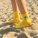 Surfing - DESIGN IVY Ggo deung o embroidered socks