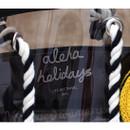 2NUL Aloha holidays black beach shoulder bag