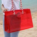 2NUL Aloha holidays red beach shoulder bag