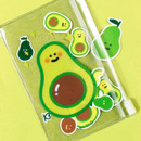 Be on D 90s coolkids party small clear zip lock pouch
