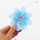 Blue - ABJECTION Hepatica asiatica card and envelope set