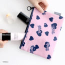 Twinkle - ICONIC Comely water resistant medium flat pouch bag