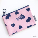 Twinkle - ICONIC Comely water resistant small flat pouch bag