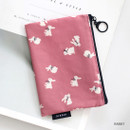 Rabbit - ICONIC Comely water resistant small flat pouch bag