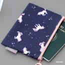 Unicorn - ICONIC Comely water resistant small flat pouch bag