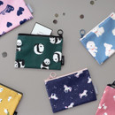ICONIC Comely water resistant small flat pouch bag