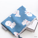 Bichon - ICONIC Comely water resistant small flat pouch bag