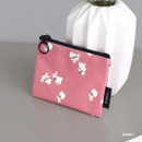 Rabbit - ICONIC Comely water resistant xs size flat pouch bag