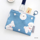 Bichon - ICONIC Comely water resistant xs size flat pouch bag