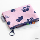 Twinkle - ICONIC Comely water resistant xs size flat pouch bag