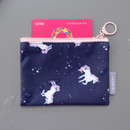 Example of use - ICONIC Comely water resistant xs size flat pouch bag