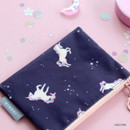 Unicorn - ICONIC Comely water resistant xs size flat pouch bag