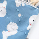 Water resistant - ICONIC Comely water resistant xs size flat pouch bag