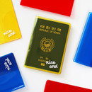 2NUL Nice and clear travel passport case holder