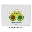 Abra avocado - Be on D Fake food medium clear zip lock pouch