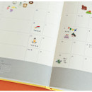 Example of use - Dailylike Daily PVC deco seal sticker for the diary