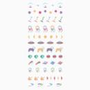 Dailylike Bichon PVC cute seal sticker for the diary