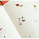 Example of use - Dailylike Party PVC cute seal sticker for the diary