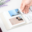 Slip in album - ICONIC Instax mini polaroid slip in photo album ver4