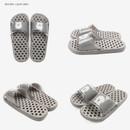 Light gray - Dailylike Bichon Frise non slip bath shower slippers