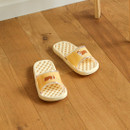 Example of use - Dailylike Welsh corgi and cat non slip bath shower slippers