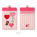 Balloon - Monopoly Line friends sweet breeze card case holder