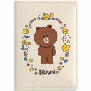 Monopoly Flower line friends card case holder