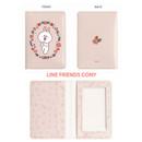 Cony - Monopoly Flower line friends card case holder
