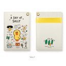 Sally - Monopoly A day of Line friends card case holder