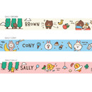 Option - Monopoly A day of Line friends neck strap