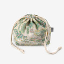 Dailylike Giverny soft oxford cotton bucket drawstring pouch