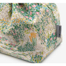 Detail of Dailylike Giverny soft oxford cotton bucket drawstring pouch