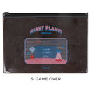 Game over - For me party medium clear zip lock pouch
