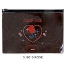 90's rose - For me party medium clear zip lock pouch