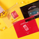 For me party medium clear zip lock pouch