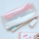 Example of use - Rihoon Neon laundry translucent zipper pencil case
