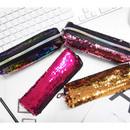 2young Shiny spangle zipper pencil case pouch