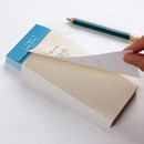 Perforated line - Wanna This Seize the day basic memo notepad