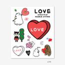 Love - Gunmangzeung Ghost pop murmur sticker set