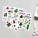 Gunmangzeung Ghost pop murmur sticker set