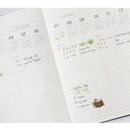 Quarterly plan - Indigo Official dateless weekly planner notebook