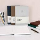 Indigo Official dateless weekly planner notebook