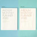 Original, pink - Ardium 2020 large dated monthly planner scheduler