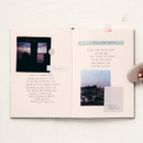 Usage example - Livework Korean poetry small hardcover blank notebook