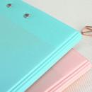 Back pocket - PLEPLE Memo days A5 size foldover clipboard set